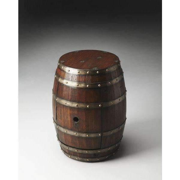 Butler Specialty Rustic Barrel Table-Butler Specialty-Happy Home Bars