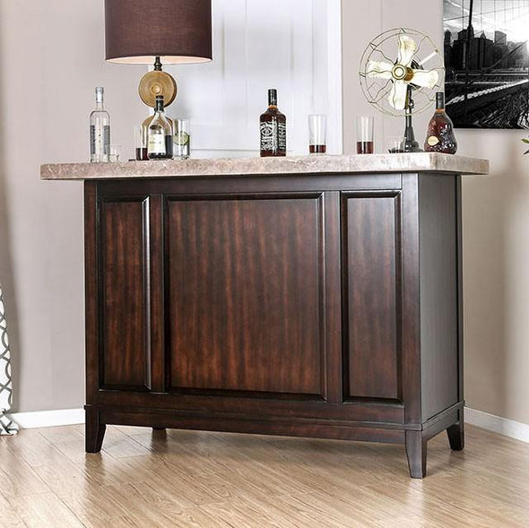 Furniture of America Bismarck Home Bar-Furniture of America-Happy Home Bars