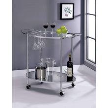 Furniture of America Gamora 2-tier Bar Cart-Furniture of America-Happy Home Bars