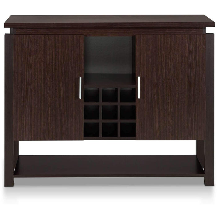 Furniture of America Habitat Wine Storage-Furniture of America-Happy Home Bars