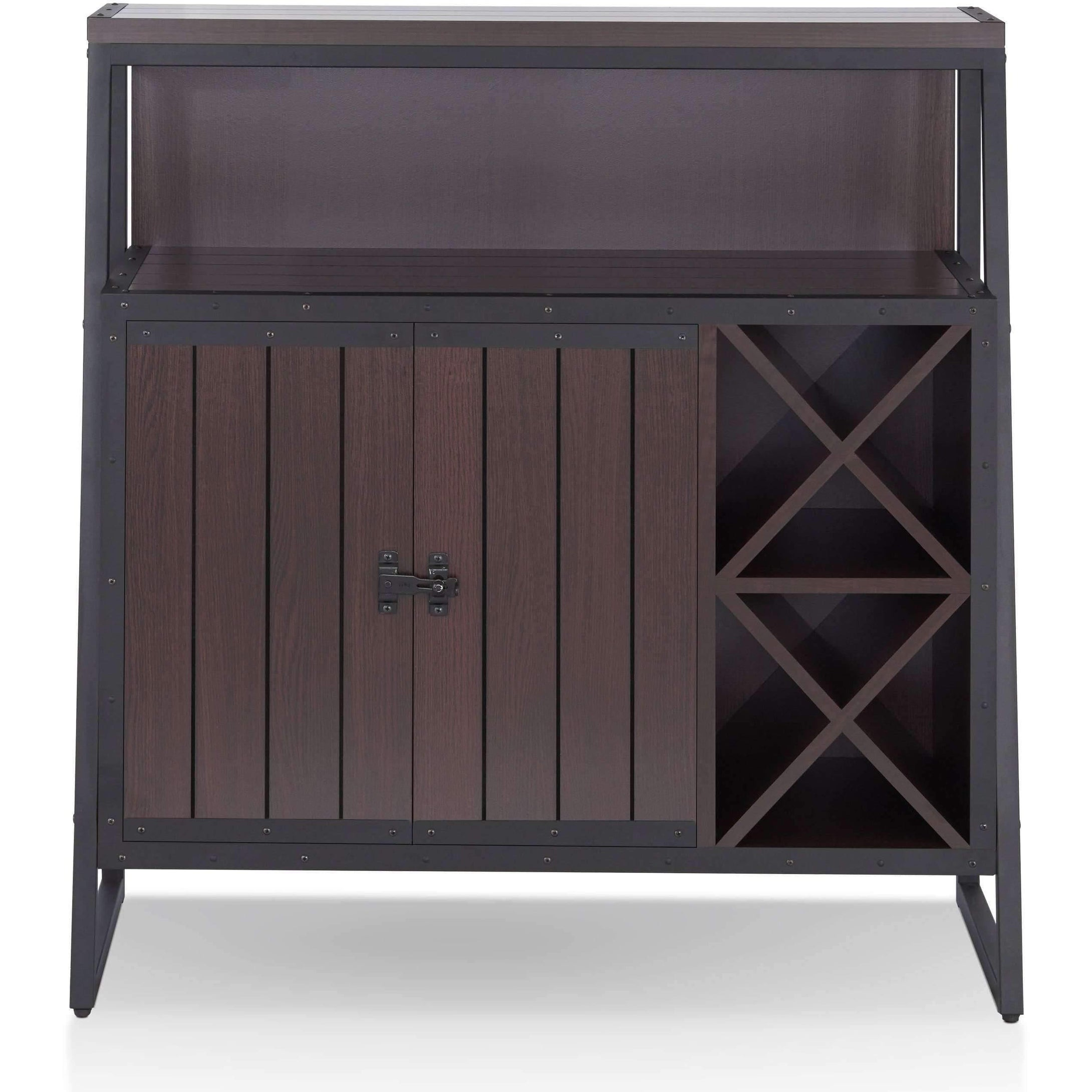 Furniture of America Harry Wine Storage-Furniture of America-Happy Home Bars