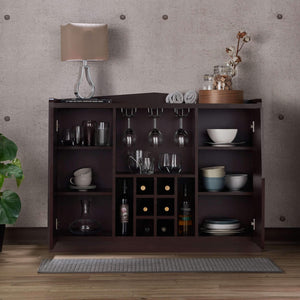Furniture of America Heather Wine Storage-Furniture of America-Happy Home Bars