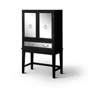Furniture of America Louis Wine Cabinet-Furniture of America-Happy Home Bars
