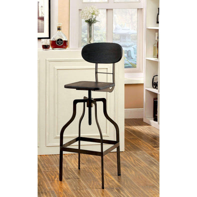 Furniture of America Malek Bar Chair-Furniture of America-Happy Home Bars