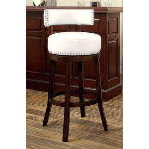 "Furniture of America Roos 29"" bar stool (set of 2)-Furniture of America-Happy Home Bars"