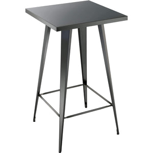 Furniture of America Simon Industrial Bar Table-Furniture of America-Happy Home Bars