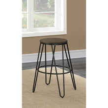 Furniture of America Talton Counter Height Counter Stool (set of 2)-Furniture of America-Happy Home Bars