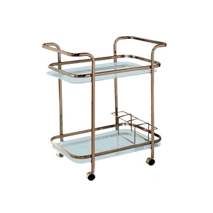 Furniture of America Teyana Bar Cart-Furniture of America-Happy Home Bars