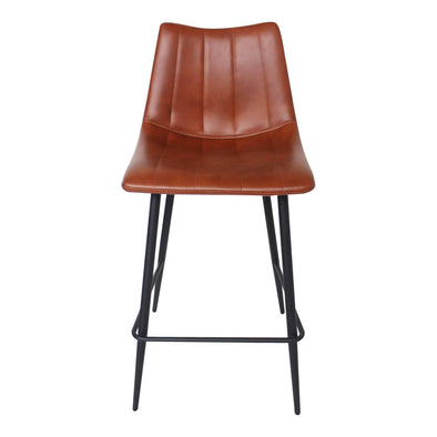 Moe's Home Collection Alibi Brown Counter Stool (Set of 2)-Moe's Home Collection-Happy Home Bars