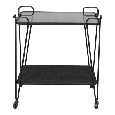 Moe's Home Collection Fielding Bar Cart-Moe's Home Collection-Happy Home Bars