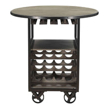 Moe's Home Collection Julep Bar Cart-Moe's Home Collection-Happy Home Bars