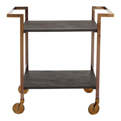 Moe's Home Collection Manhattan Bar Cart-Moe's Home Collection-Happy Home Bars