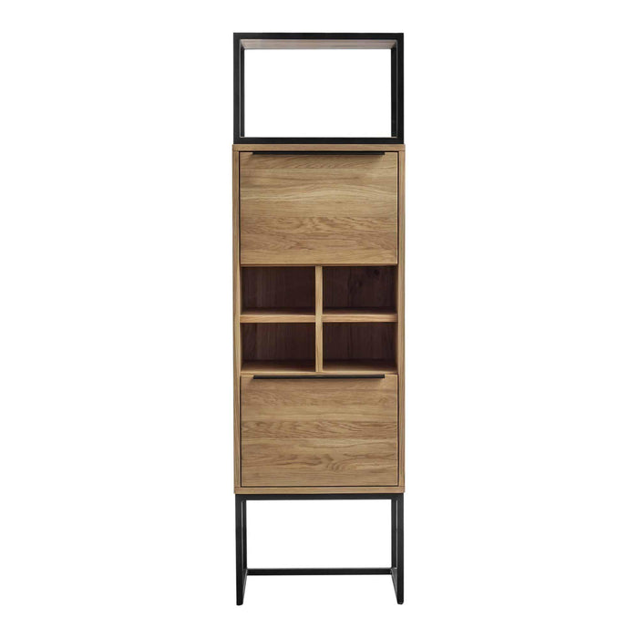 Moe's Home Collection Nevada Tall Bar Cabinet-Moe's Home Collection-Happy Home Bars