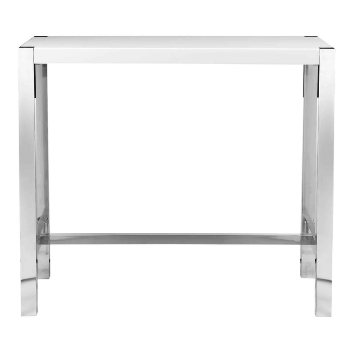Moe's Home Collection Riva White Bar Table-Moe's Home Collection-Happy Home Bars