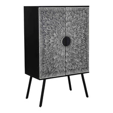 Moe's Home Collection Sunburst Wine Cabinet-Moe's Home Collection-Happy Home Bars