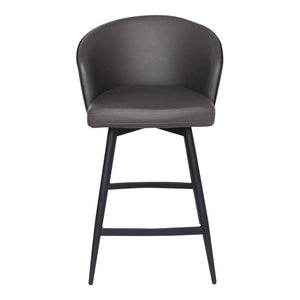 Moe's Home Collection Webber Swivel Counter Stool-Moe's Home Collection-Happy Home Bars