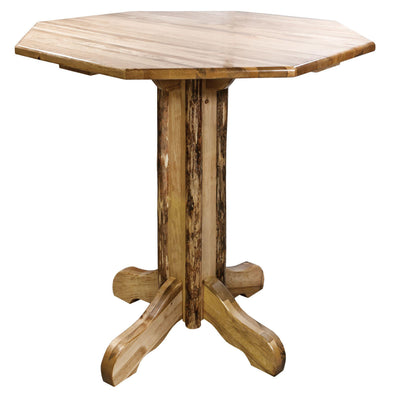 Montana Woodworks Glacier Country Pub Table-Montana Woodworks-Happy Home Bars