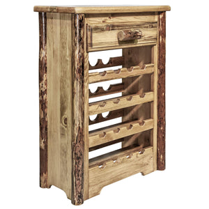 Montana Woodworks Glacier Country Wine Rack-Montana Woodworks-Happy Home Bars