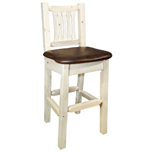 "Montana Woodworks Homestead 30"" Bar Stool-Montana Woodworks-Happy Home Bars"