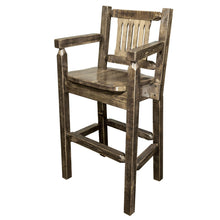 Montana Woodworks Homestead Stain & Lacquer Captain's Bar Stool-Montana Woodworks-Happy Home Bars