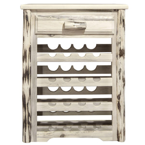 Montana Woodworks Montana Lacquered Wine Rack-Montana Woodworks-Happy Home Bars