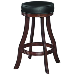 "Ram Game Room 30"" Cappuccino Backless Bar Stool-Ram Game Room-Happy Home Bars"