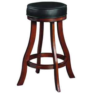 "Ram Game Room 30"" Chestnut Backless Bar Stool-Ram Game Room-Happy Home Bars"