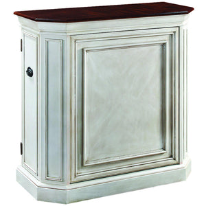 Ram Game Room Home Bar Cabinet with Spindle | Antique White-Ram Game Room-Happy Home Bars