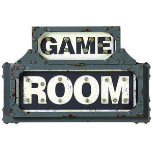 Ram Game Room Metal Sign-Ram Game Room-Happy Home Bars