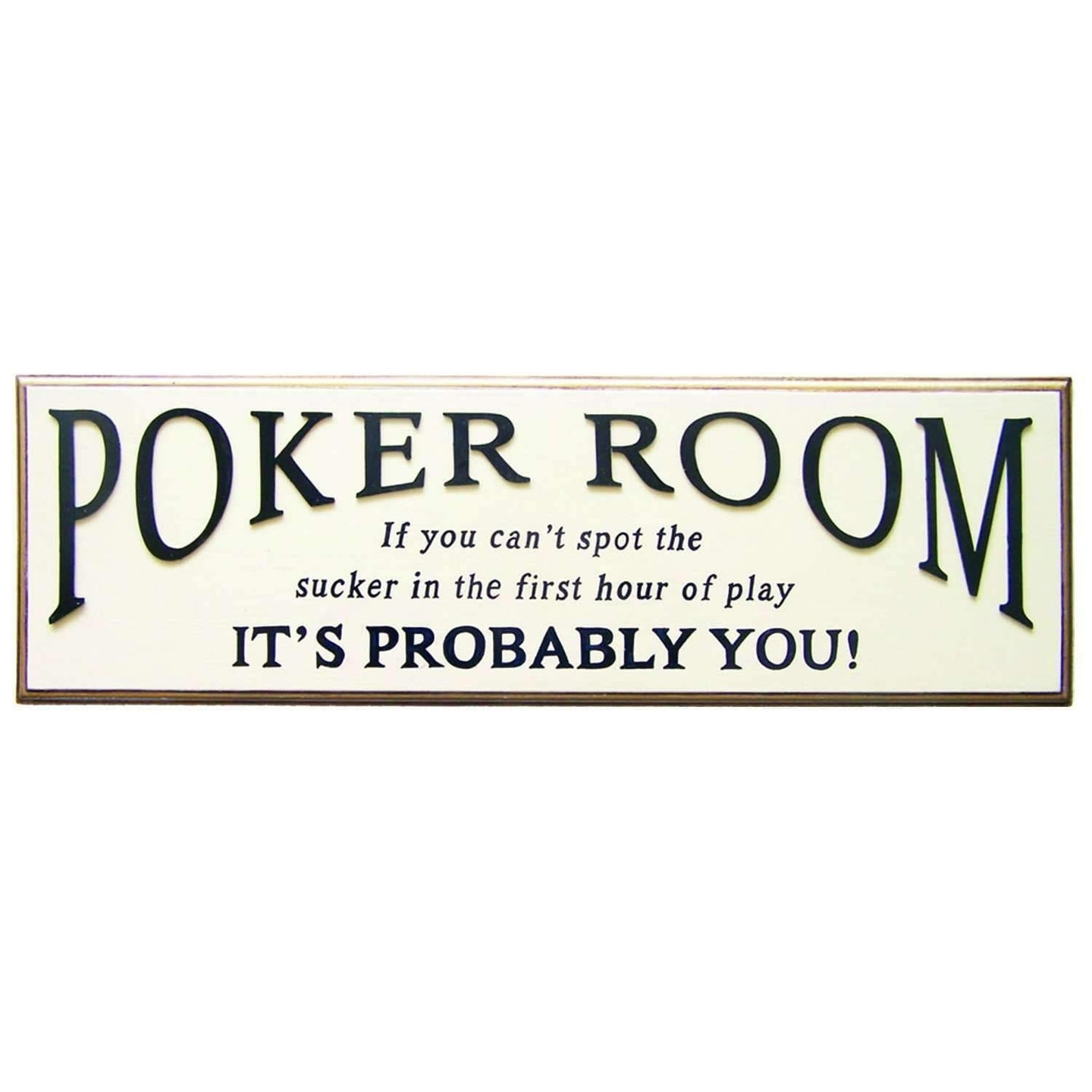 Ram Game Room Poker Room Sign-Ram Game Room-Happy Home Bars