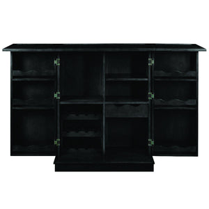Ram Game Room Portable Home Bar | Black-Ram Game Room-Happy Home Bars