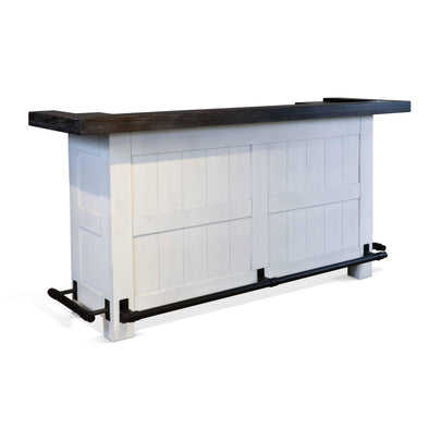 "Sunny Designs Carriage 78"" Home Bar-Sunny Designs-Happy Home Bars"