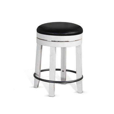 "Sunny Designs Carriage House 24"" Swivel Bar Stool (Set of 2)-Sunny Designs-Happy Home Bars"