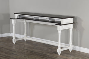 Sunny Designs Carriage House Counter Height Bar Table-Sunny Designs-Happy Home Bars