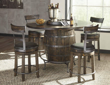 Sunny Designs Homestead Barrel Table-Sunny Designs-Happy Home Bars