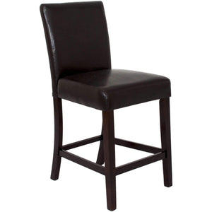 "Sunset Trading 24"" Espresso Kemper Parson Counter Stool 