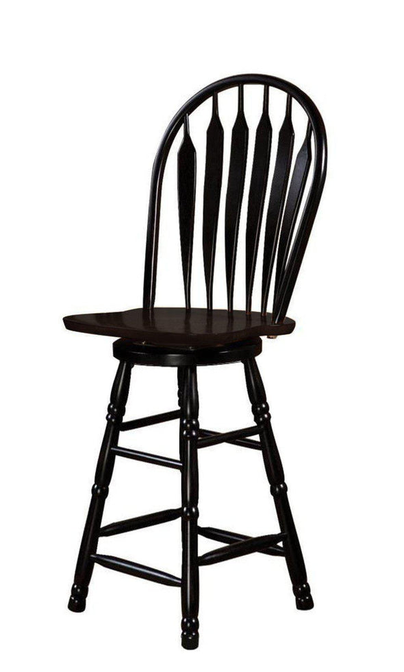 "Sunset Trading 30"" Swivel Bar Stool-Sunset Trading-Happy Home Bars"