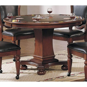 Sunset Trading Bellagio Dining and Poker Table | Reversible Game Top-Sunset Trading-Happy Home Bars