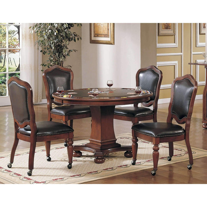 Sunset Trading Bellagio Poker Table Set-Sunset Trading-Happy Home Bars