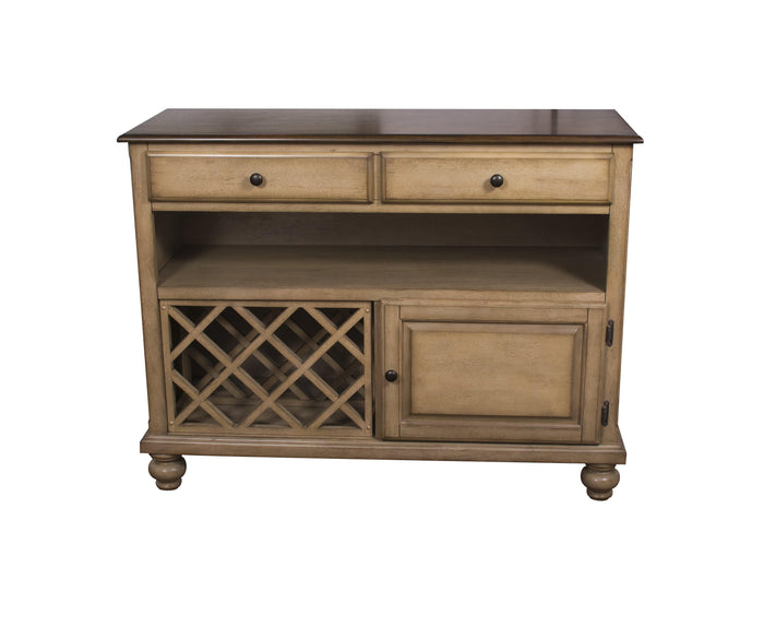 Sunset Trading Brook Wine Storage Server-Sunset Trading-Happy Home Bars