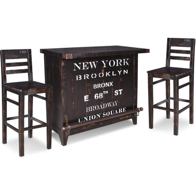 Sunset Trading Graphic Wine Bar Set-Sunset Trading-Happy Home Bars