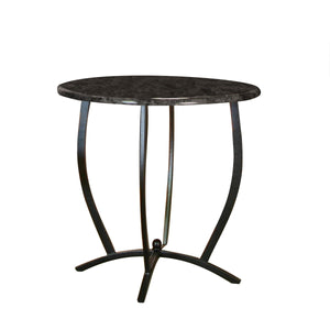 Sunset Trading Sierra Round Counter Height Dining Table-Sunset Trading-Happy Home Bars