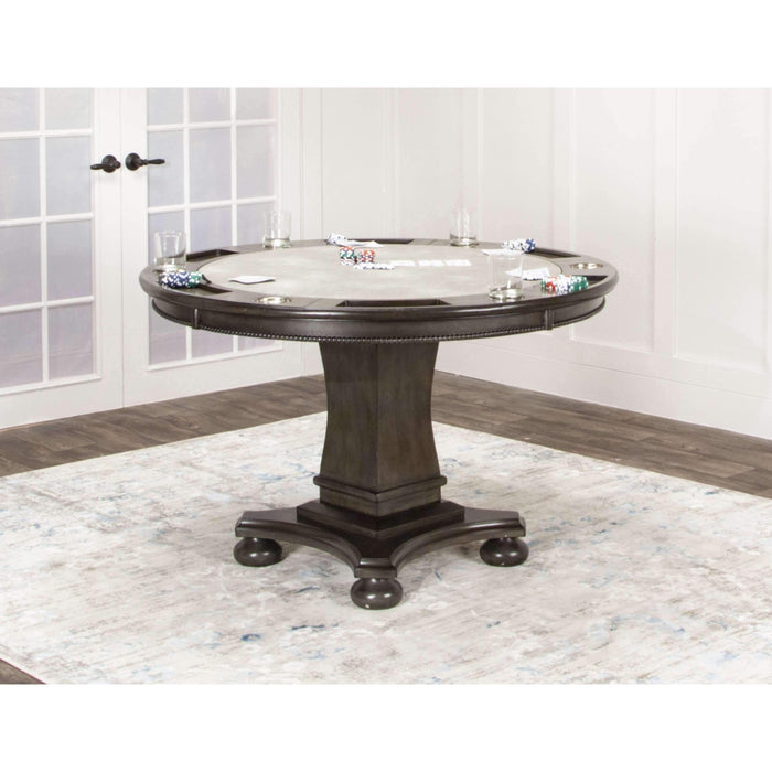 Sunset Trading Vegas Caster Poker Gaming Table-Sunset Trading-Happy Home Bars