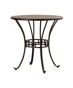 Sunset Trading Victoria Round Pub Table-Sunset Trading-Happy Home Bars