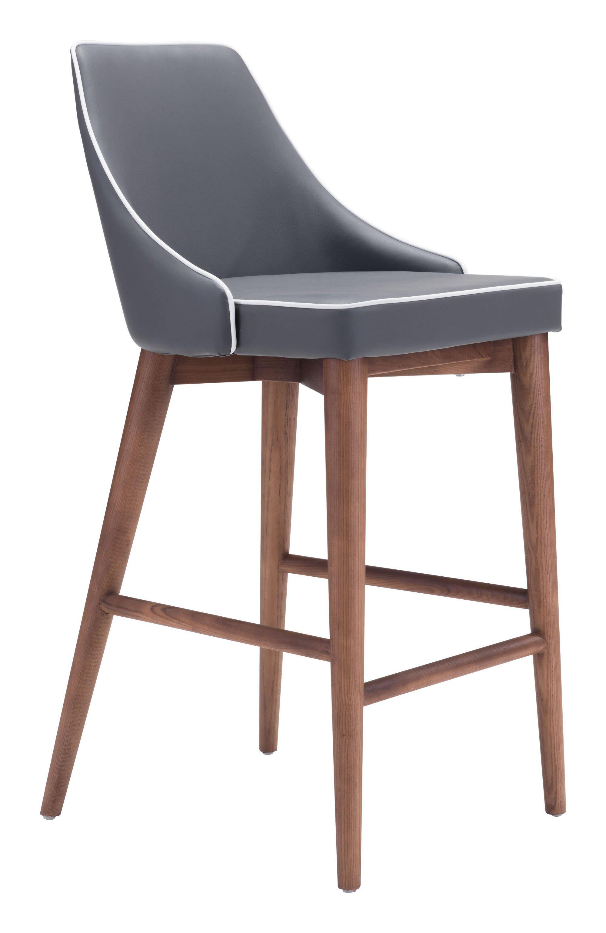 Zuo Modern Moor Counter Bar Stool-Zuo Modern-Happy Home Bars