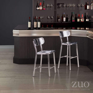 Zuo Modern Winter Counter Stool (Set of 2)-Zuo Modern-Happy Home Bars