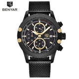 Men's Waterproof Luxury Quartz Watch - EnhancedUniverse