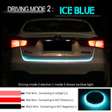 47.6 inch RGB colorful LED trunk strip with dynamic blinkers - EnhancedUniverse