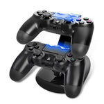 ALLOYSEED Dual USB Controller Charger Dock For Sony Playstation 4/PS4 controllers - EnhancedUniverse