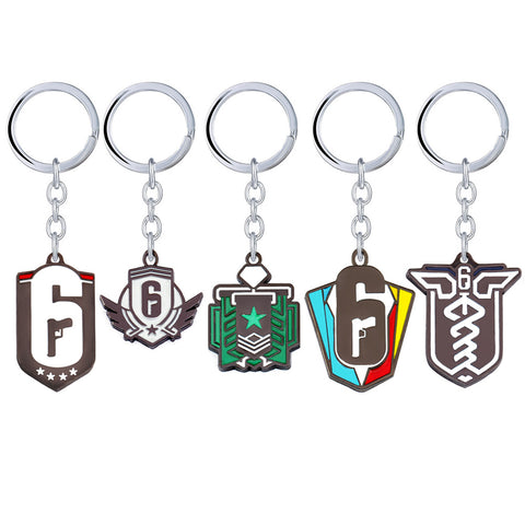 Siege Event and Ranked Diamond Keychains - EnhancedUniverse